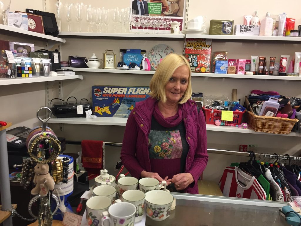Donations pour in to Age UK charity shop - Longton Exchange